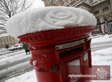 Снежная реклама