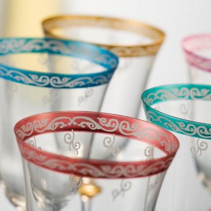 Обработка стекла по новой технологии Crystal Color