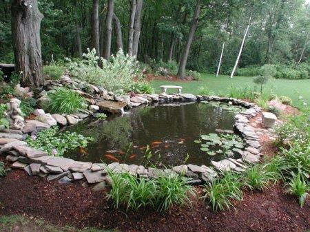 Изготовление мини-прудов и искусственных водоемов