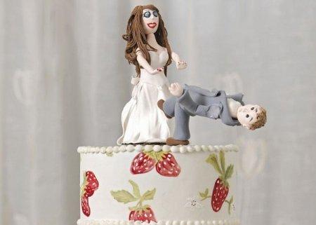 После свадебный торт