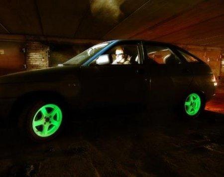 Ноу-хау для тюнинг ателье - стильные светящиеся диски