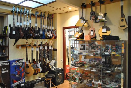 Собственный музыкальный магазин